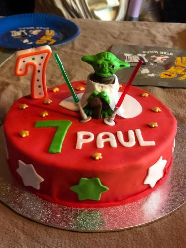 Star-Wars Torte